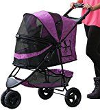Pet Gear No-Zip Special Edition Pet Stroller Zipperless Entry Orchid
