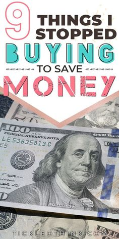 Chances are you may be wasting so much money by buying small and everyday things and you might not even realize it. Read on to learn the things that you should stop buying so you can save money, pay off debts and achieve your financial goals! payoffdebt #debtfreelife #moneysavingtips #personalfinance #frugalliving #frugality #tickledthink Ways To Save Money, Money Tips, Money Saving Tips, Saving Ideas, Budgeting Finances, Budgeting Tips, Investing Money, Financial Goals, Money Management