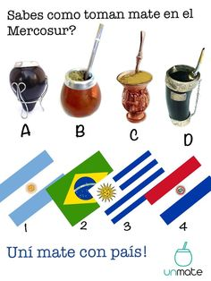 Which way do you enjoy your Yerba Maté? Rio Grande Do Sul, International Coffee Organization, Paraguay Food, Yerba Mate Tea, Different Types Of Tea, Fruit Tea, Gaucho, Teaching Spanish, Coffee Roasting