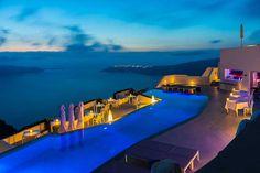 Santorini nocą :)