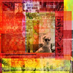 Factory screen test - 95 x 95 cm - Digigraphie originale sur toile