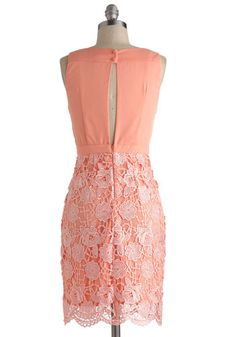 bridesmaids maybe - vina yes that means you lol Peaches and Gleam Dress, #ModCloth