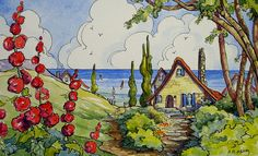Red Roof Cottages by the Sea by cottagelover1953 on Flickr