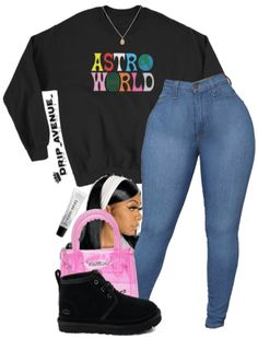 Baddie Outfits Casual, Swag Outfits For Girls, Teenage Girl Outfits, Cute Swag Outfits, Cute Comfy Outfits, Girls Fashion Clothes, Winter Fashion Outfits, Dope Outfits, Retro Outfits