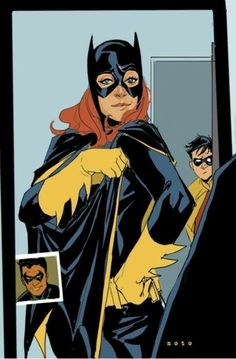 Batgirl and Robin by Phil Noto