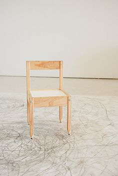 Rebecca Szeto's Drawing Chair: Performance Piece for the Fidgety Child