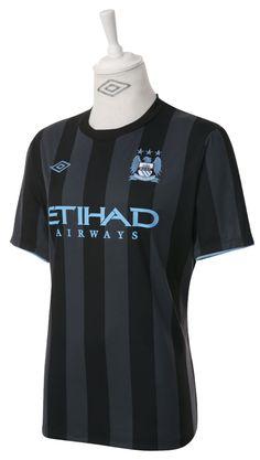 2c2431accd MANCHESTER CITY 2012 EUROPEAN AWAY SHIRT Camisa Uniforme