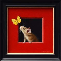 Red and yellow! Rouge et jaune! Available at Marine Art Gallery http://www.marineartsgallery.com/artists.html