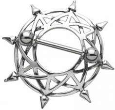 The Star Nipple Shield is a great way to dress up you nipple piercing. The Shield is made of Sterling Silver and the Barbell is Surgical Steel. Piercing Original, Body Piercing, Piercings, Nipple Rings, Body Jewellery, Barbell, Sale Items, Jewelry Stores, Steel