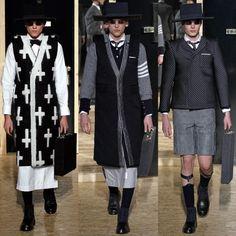 Thom Browne Fall/Winter 2013-14 menswear show in Paris