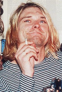 Kurt Cobain (Nirvana) - The man who created the sound track to my high school years...