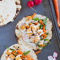 Buffalo Chicken #Tacos #recipe via Taste and Tell http://www.yummly.com/recipe/Buffalo-Chicken-Tacos-1526760