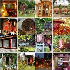 Gypsy wagons...yes, please.