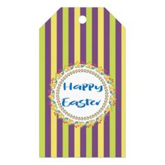 Happy st patricks day gift tag st patricks day gifts irish personalized floral bunny easter gift tags negle Choice Image