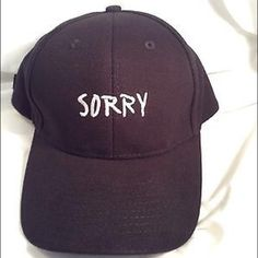 Justin Bieber Sorry Purpose Tour Hat Brand new Justin bieber sorry purpose tour hat. 100% authentic. Justin bieber Accessories Hats