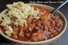 Easy Slow Cooker Recipes – Hobo Bean and Bacon Chili