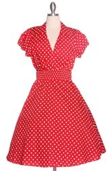 $48.95 Vintage Reproduction Valentines Pin Up Dress!