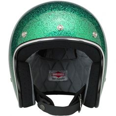 Biltwell Bonanza Helmet DOT Approved - Gang Green MF This leaner 8edf82b4eb5