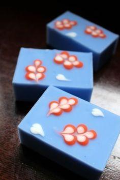 エルメスカラーの石鹸&手軽にきちんとして見られるには |新潟 手作り石鹸の作り方教室 アロマセラピーのやさしい時間