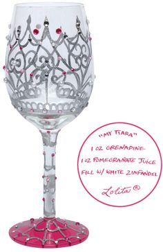 Lolita My Tiara Wine Glass~for the princess in all of us ;-)