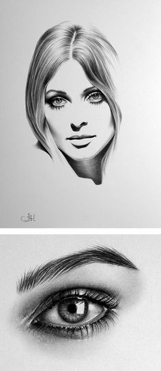 Inspiration Grid is a daily updated gallery of creative talent . - Inspiration Grid is a daily updated gallery with creative talents from all over the world … – H - Eye Pencil Drawing, Realistic Eye Drawing, Pencil Art Drawings, Art Drawings Sketches, Horse Drawings, Eye Drawings, Drawing Faces, Animal Drawings, Gif Kunst
