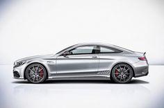 2016 Mercedes-AMG C63 left side rendering