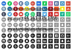 Social Media Management Services Manchester Online networking are PC intervened advances that permit the making and sharing of data, thoughts, vocation interests and different types of expression by means of virtual groups and systems. The assortment of remain solitary and implicit online networking administrations as of now accessible presents the difficulties of characterizing. Be that as it may, there are some regular elements. Call us on:+44 161 375 1766  www.handsdigitalmarketing.com