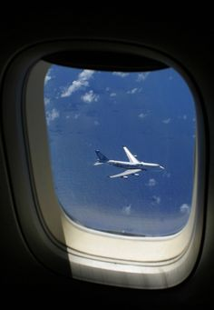 In-Flight...plane to plane! Great shot!