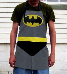 Batman Chef's Apron Cosplay Costume from Poppy's Garden Gate