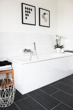 Badezimmer Schwarz Weiß Dekorieren die 182 besten bilder von badezimmer | bathtub, home und home decor