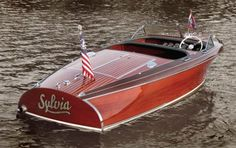 Tasty Photo's of A Chris Craft Barrel Back. | Classic Boat News / Woody Boater