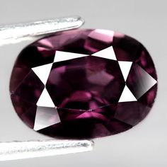 2.19CT.SPARKLING AAA! OVAL FACET PINK RED NATURAL SPINEL SRI  LANKA #GEMNATURAL