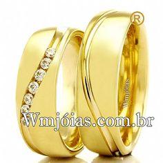 60104fec5f8 Alianças de casamento e noivado WM2316