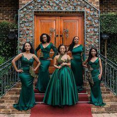 African Bridesmaid Dresses, African Wedding Attire, Mermaid Bridesmaid Dresses, Blue Bridesmaids, Sepedi Traditional Dresses, African Traditional Wedding Dress, Latest African Fashion Dresses, African Dresses For Women, Shweshwe Dresses