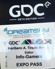 Seguimos la gira! Hoy en el #GDC16 @official_gdc #infogamers