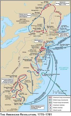 American Colonies PreRevolution History Genealogy Genealogy - Map of us after revolutionary war