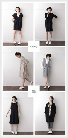 {nooy} nooy is a Japanese clothing company founded by Natsuko Wakayama and Yos. {nooy} nooy is a J Japan Fashion, Love Fashion, Fashion Design, Clothing Patterns, Dress Patterns, Floral Patterns, Textile Patterns, Sewing Clothes, Diy Clothes