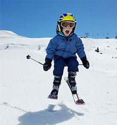 The pure joy of Skiing!