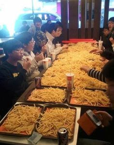 Diply - Google+...French Fry OVERKILL