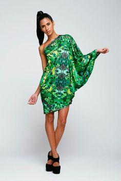 Tanager Dress  #TrampInDisguise #Birdsofpray trampindisguise.com