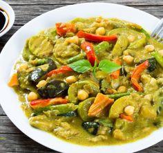 Nepřehlédněte: Cuketa v kari omáčce Ratatouille, Thai Red Curry, Cooking, Ethnic Recipes, Food, Fitness, Kitchen, Essen, Meals