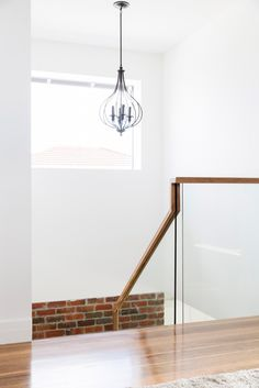 Minimalist and contemporary, Beaufort Way's simplicity defines its understated character. Glass Handrail, Stair Handrail, Brisbane, Melbourne, Modern Staircase, Staircase Design, Architectural House Plans, Glass Fence, Stair Lighting