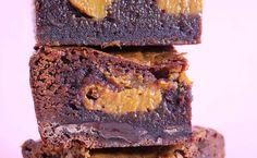 Caramel Filled Chocolate Fudge Brownie