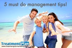 I have a few tips that have made my life easier...  http://treatmentplanmarketing.com/5-management-tips/