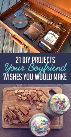 Gentleman'S survival kit - 21 diy projects your boyfriend wishes you would make project yourself, Diy Gifts For Boyfriend, Gifts For Him, Homemade Gifts For Men, Boyfriend Boyfriend, Diy Gifts For Men, Boyfriend Birthday, Diy Projects For Boyfriend, Boyfriend Presents, Man Gifts