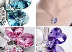 beautiful necklace for her in six different colors