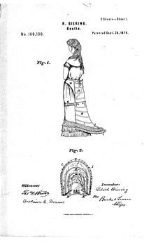 bustle from 1875