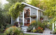 47 Incredible Backyard Storage Shed Design and Decor Ideas 47 Incredible Backyard Storage Shed Design and Decor IdeasAre you planing make some a backyard shed?Well if you need some storage shed, we c Backyard Storage Sheds, Backyard Sheds, Shed Storage, Backyard Landscaping, Outdoor Storage, Landscaping Ideas, Outdoor Sheds, Small Storage, Storage Ideas