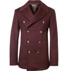Alexander McQueenWool And Cashmere-Blend Peacoat