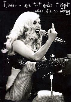"Lady Gaga - 'The Edge of Glory"""